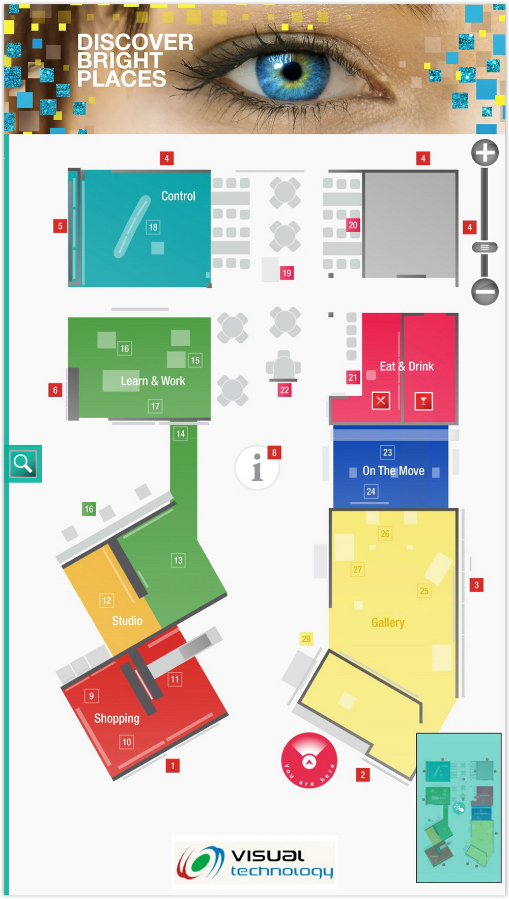Wayfinding_NEC ISE booth (5)