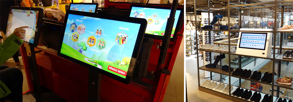Banner Omnivision Omnitapps Games Vögele Shoes